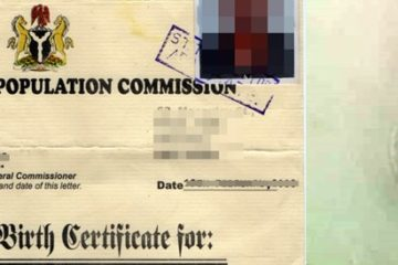 Authentication of Birth Certificate in Nigeria Legalization of NPC Birth Certificate How to Authenticate Birth Certificate in Nigeria NPC attestation of birth