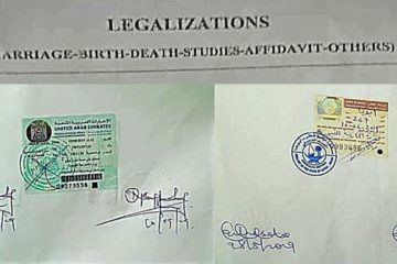 Legalization of Documents at Embassy in Nigeria
