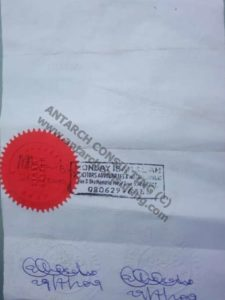 notarize documents in Nigeria notarization of documents by Notary Public