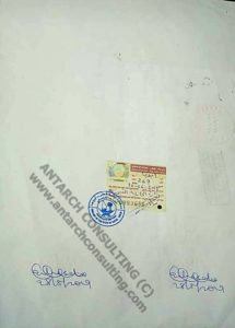document legalized at Qatar Embassy in Nigeria